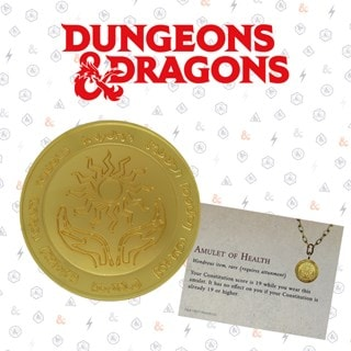 24K Gold Plated Medallion: Dungeons & Dragons Collectible