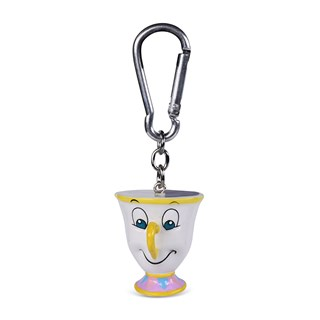 Chip: Beauty And The Beast 3D Keychain