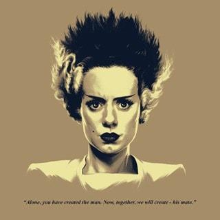 Bride Of Frankenstein: Headshot Art Print