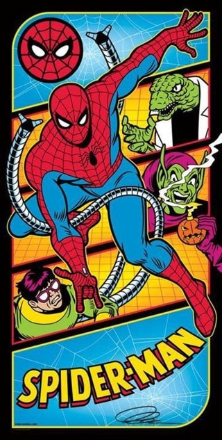 Spider-Man Versus Villains Mark Daniels Art Print