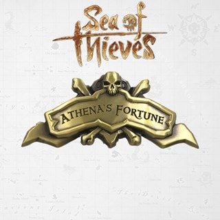 Sea Of Thieves: Athena's Fortune Ship Plaque: Antique Collectible (online only)