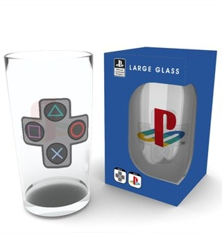 Large Glass: Playstation Buttons