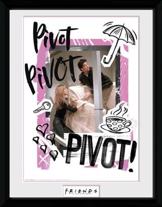 Friends: Pivot Framed Photographic Print