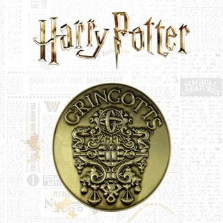 Harry Potter: Gringotts Bank Medallion (online only)