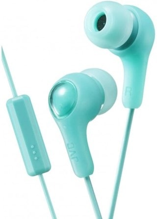 JVC Gumy Plus Mint Green Earphones W/Mic