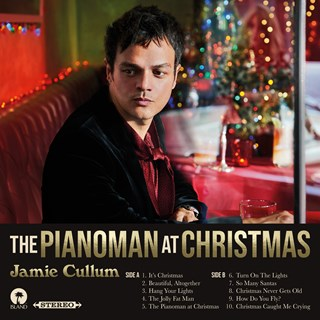 The Pianoman at Christmas - Limited Edition Santa Claus Red Vinyl