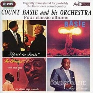 April in Paris/King of Swing/Atomic Mr Basie/The Greatest
