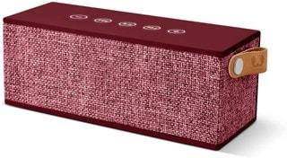 Fresh N Rebel Rockbox Brick Ruby Fabric Edition Bluetooth Speaker