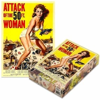 Attack Of The 50ft Woman: 500 Piece Jigsaw Puzzle