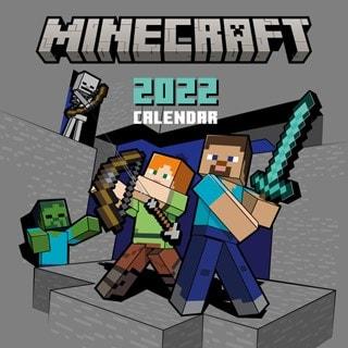 Minecraft Square 2022 Calendar