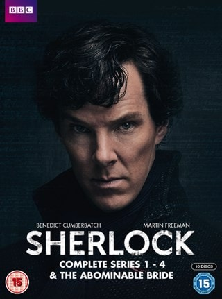 Sherlock: Complete Series 1-4 & the Abominable Bride