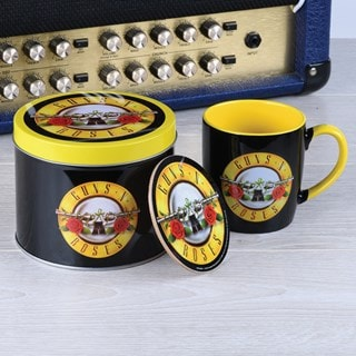 Guns N Roses: Bullet Logo Mug Gift Set in Tin