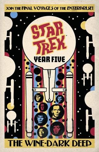 Star Trek: Year Five: The Wine-Dark Deep: Book 2