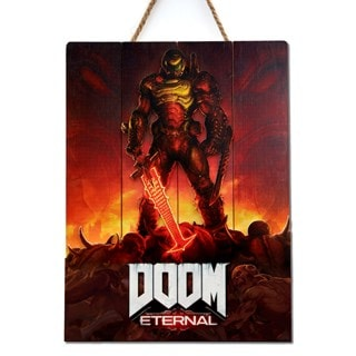 Doom Eternal Limited Edition 3D Wood Art