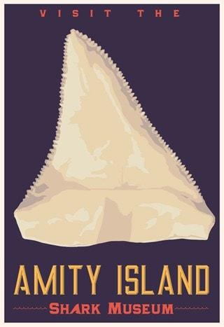 Amity Island Shark Museum Steve Thomas Jaws Art Print