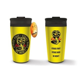 Cobra Kai No Mercy Metal Travel Mug