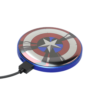 Tribe Marvel Captain America 4000mAh Light Up Power Bank