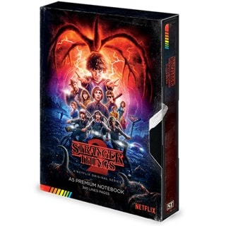 Stranger Things (S2) VHS A5 Premium Notebook