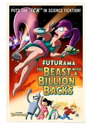 Futurama: Beast With A Billion Backs Limited Edition Giclee Print