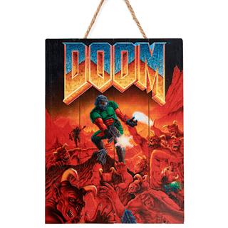 Doom Classic Limited Edition 3D Wood Art
