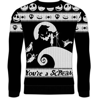You're A Scream: The Nightmare Before Christmas Christmas Jumper