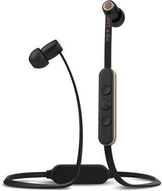 Jays A-Six Black/Gold Bluetooth Earphones