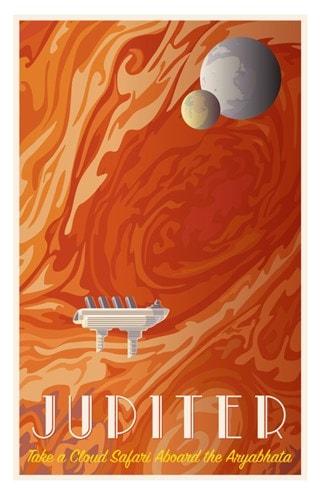 Jupiter Cruise Limited Edition Art Print