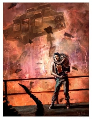 Alien: Countdown Cliff Cramp Limited Edition Giclee Print