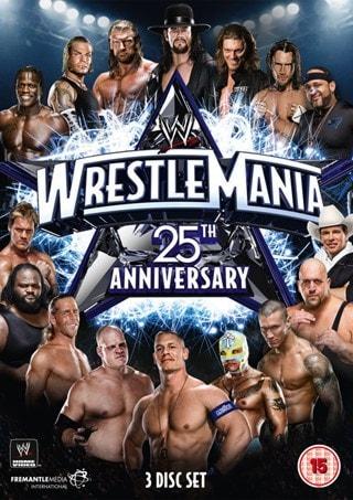 WWE: Wrestlemania 25