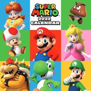 Super Mario: Square 2022 Calendar