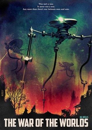 War Of The Worlds Matt Griffin Art Print