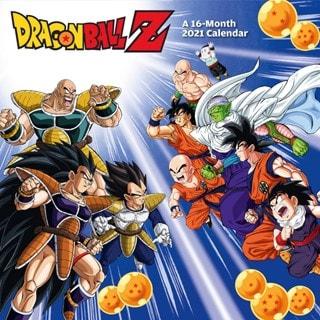 Dragon Ball Z: Square 2021 Calendar