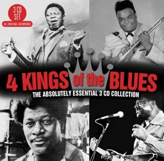 4 Kings of the Blues: The Absolutely Essential 3CD Collection