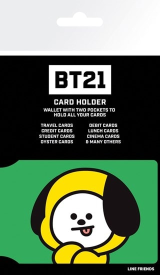 Card Holder BT21: Chimmy