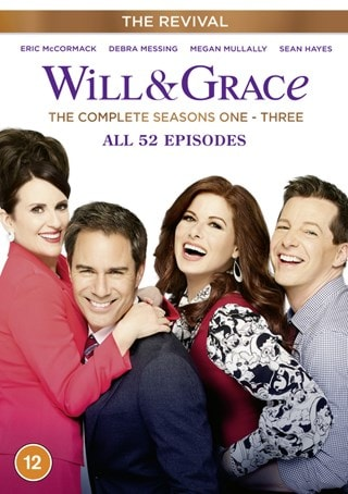 Will and Grace - The Revival: The Complete Seasons One-three