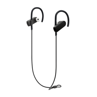 Audio Technica ATH-SPORT50BT SonicSport Black Bluetooth Headphones