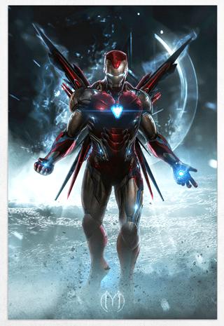 Iron Man Limited Edition Fine Art Print