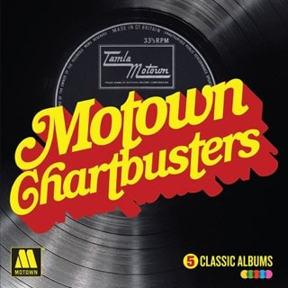 Motown Chartbusters: 5 Classic Albums