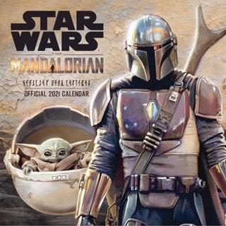 Star Wars: The Mandalorian Square 2021 Calendar
