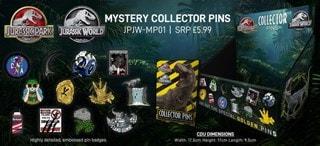 Jurassic Park: Mystery Pin Badges