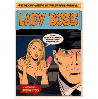 Lady Boss Limited Edition Art Print