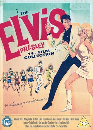 The Elvis Presley 14-film Collection