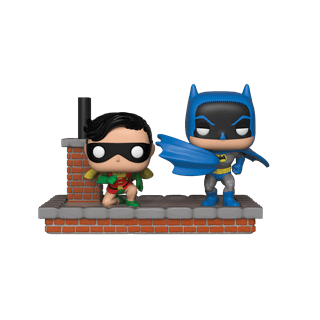 Batman and Robin (481): New Look Batman (1964) Comic Moment: DC Pop Vinyl
