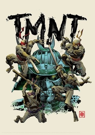 Teenage Mutant Ninja Turtles Limited Edition Art Print (hmv Exclusive)