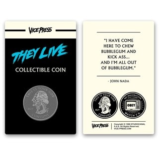 They Live: Collector's Coin