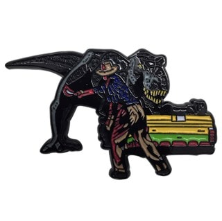 Jurassic Park Pin Badge