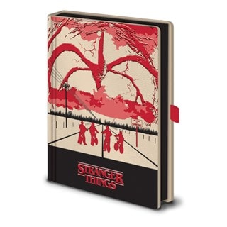 Stranger Things: Mind Flayer Light Up Premium A5 Notebook