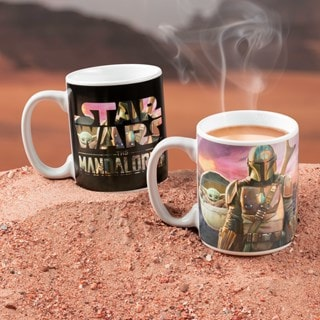 The Mandalorian Heat Change Mug: Star Wars