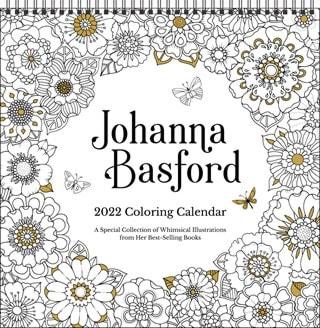 Johanna Basford Square 2022 Calendar