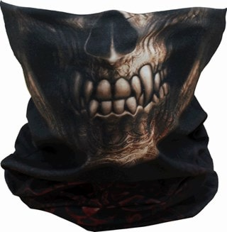 Goth Skull Face Covering